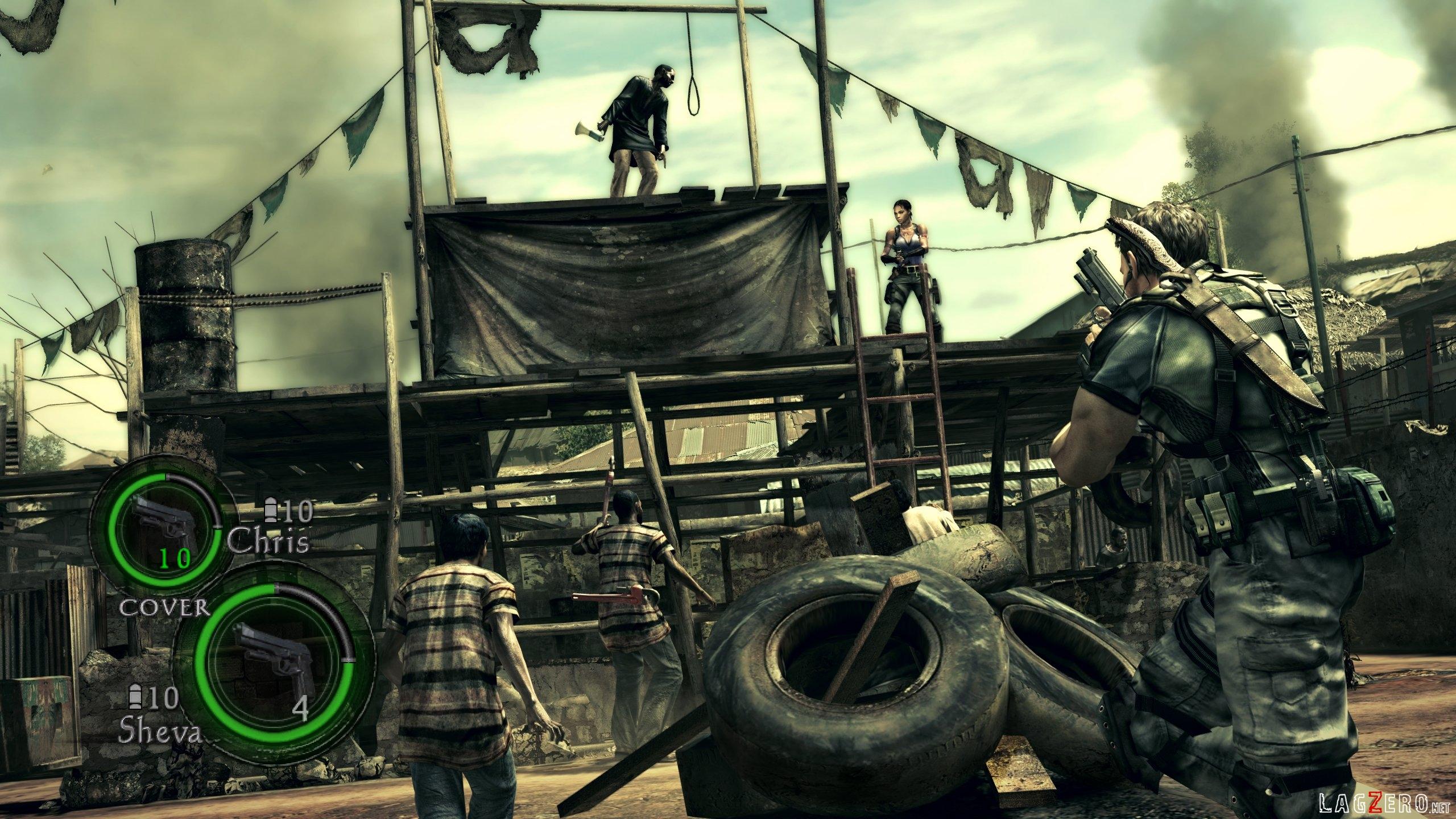 Screenshots Del Juego Cooperativo En Resident Evil 5 Lagzero Net