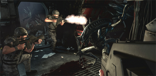 Breve: Primeras Fotos y video de Aliens: Colonial Marines
