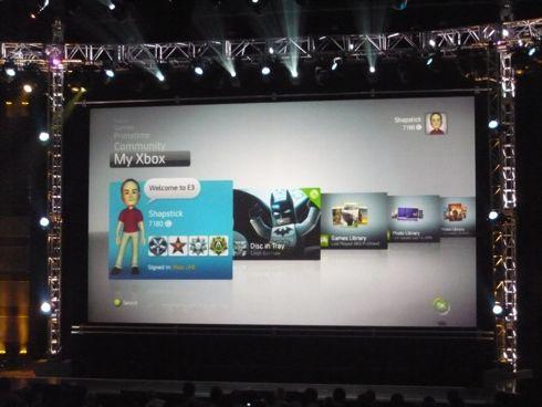 Video con el nuevo Dashboard de la Xbox 360