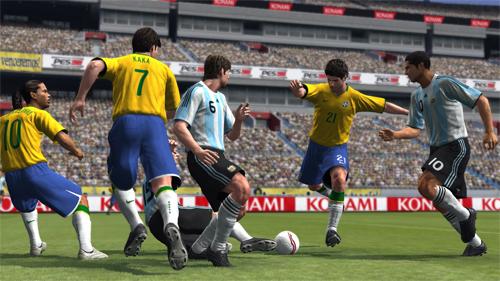 Breve: Primer video de un partido de Pro Evolution Soccer 2009