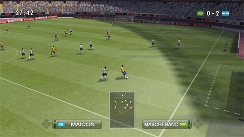 Breve: Video de Pro Evolution Soccer 2009. Los Rojos v/s Los Azules