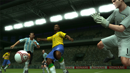 Pro Evolution Soccer 2009 estará disponible en primavera (Screenshots)