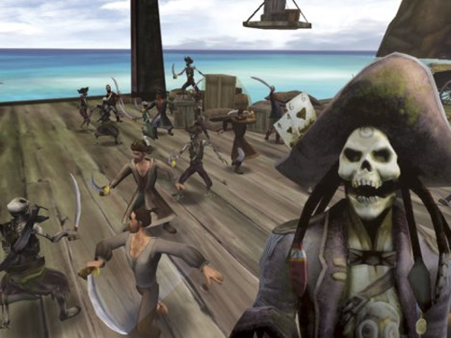 Fin de semana gratis de Piratas del Caribe Online