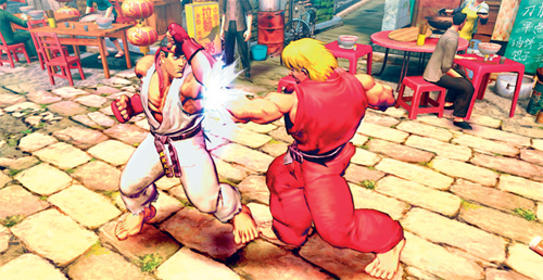 Breve: Nuevo Video Gameplay de Street Fighter IV (Japonés)