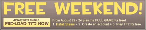 Team Fortress 2 gratis durante este fin de semana