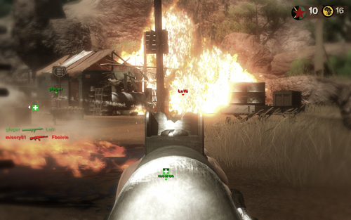 Screenshots del Multijugador de Far Cry 2