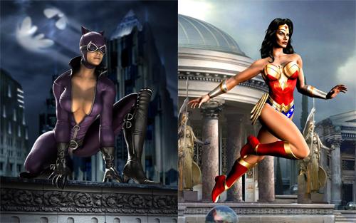 Llegó la Hora! Lista oficial de Personajes en Mortal Kombat v/s DC Universe