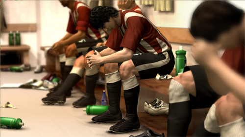 Nuevo set de Screenshots de Pro Evolution Soccer 2009
