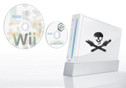 Nintendo Wii Arreglada para juegos Piratas