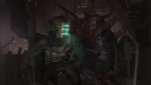Comic de Dead Space, De miedo..