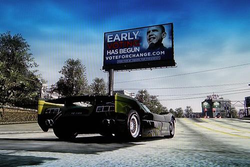 El presupuesto para publicidad de Obama en videojuegos