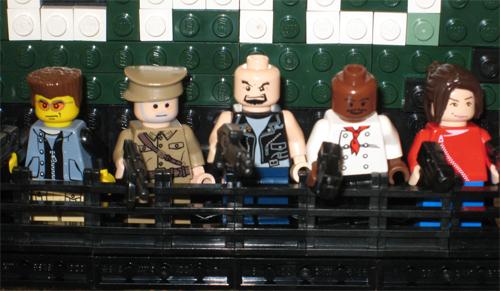 Left 4 Dead, Zombies Apocalípticos .. pero en LEGO