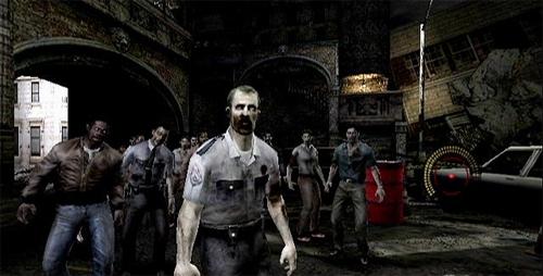 Zombies en Resident Evil... ahhh! como hemos cambiado.