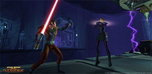 Era Verdad: Star Wars The Old Republic MMORPG anunciado [Primeras Fotos]