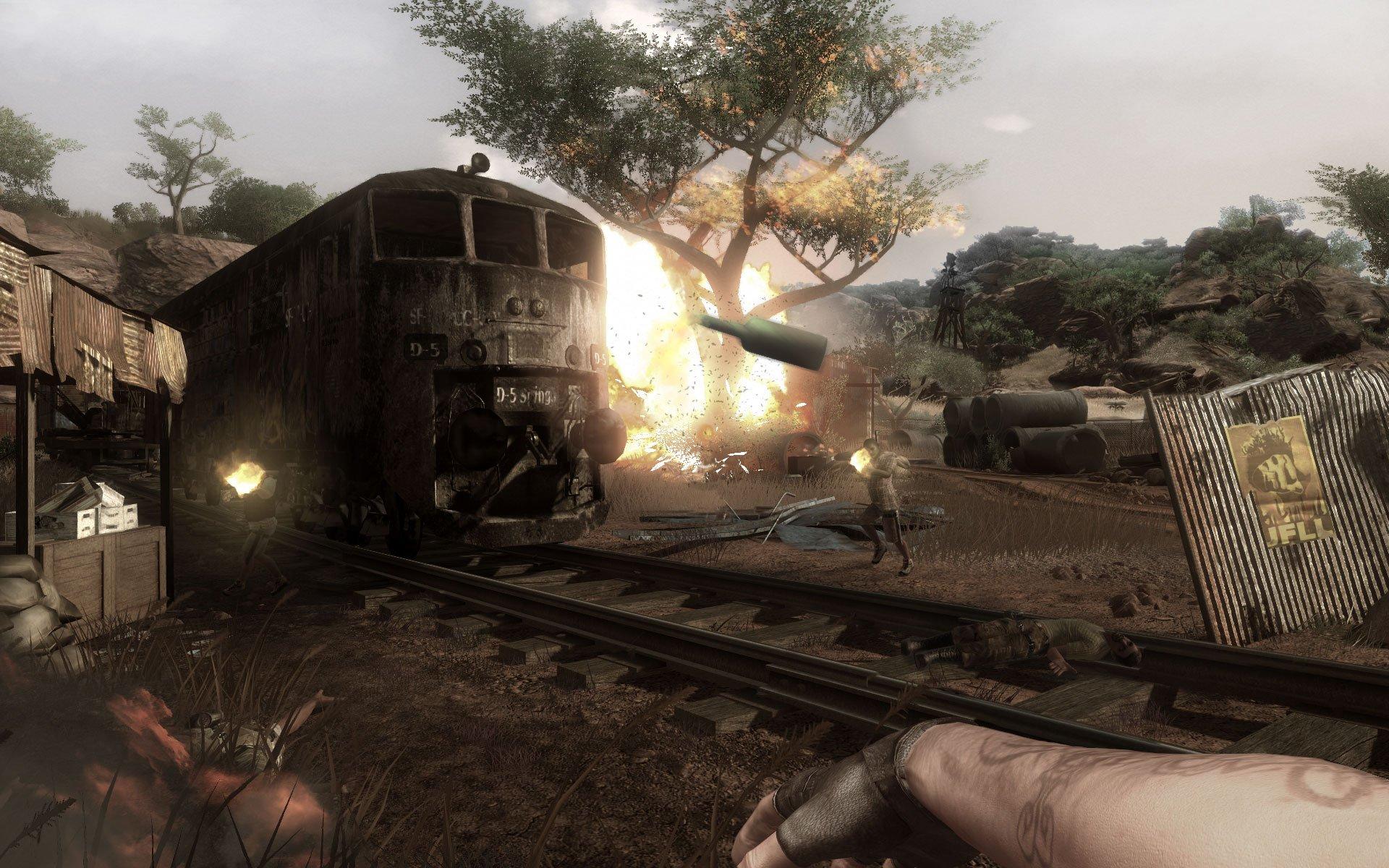 Este vídeo demuestra que Far Cry 2 fue técnicamente más avanzado de lo que es Far Cry 5
