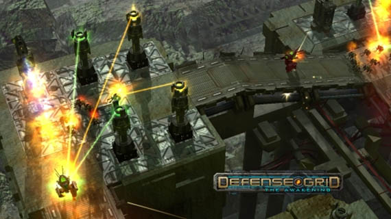 A Descargar el Demo de Defence Grid: The Awakening desde Steam