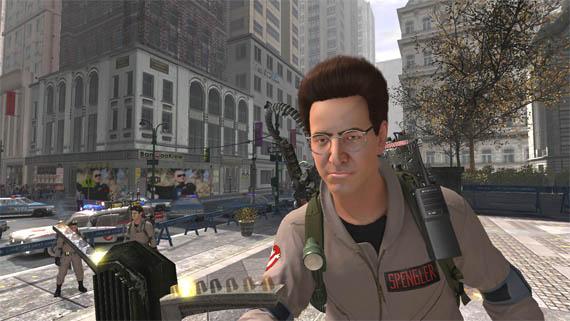 Nuevas fotos de Ghostbusters: Egon Spengler a la moda con su peinado