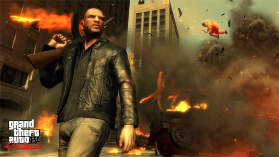 Explosión de Screenshots de GTA IV The Lost and Damned [GTA IV DLC]