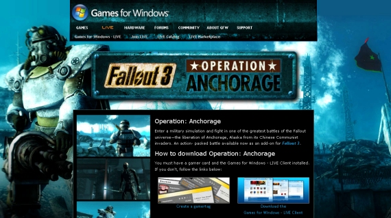 Fallout 3: Operation Anchorage, Disponible