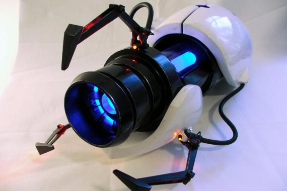 Modelo real de la Portal Gun