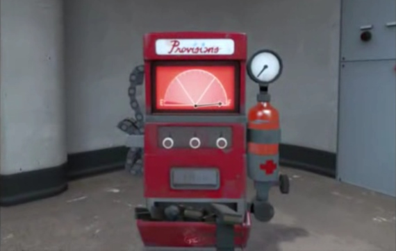 El Dispenser de Team Fortress 2 para la vida real.