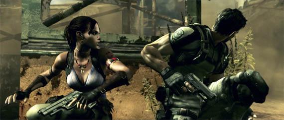 Resident Evil 5 nos deja marcando ocupado con un video cooperativo