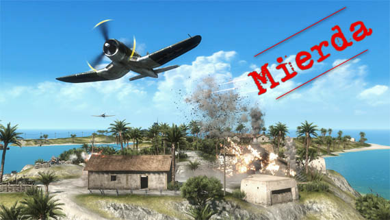 Nuevo video Gameplay de Battlefield: 1943... y es una bosta!