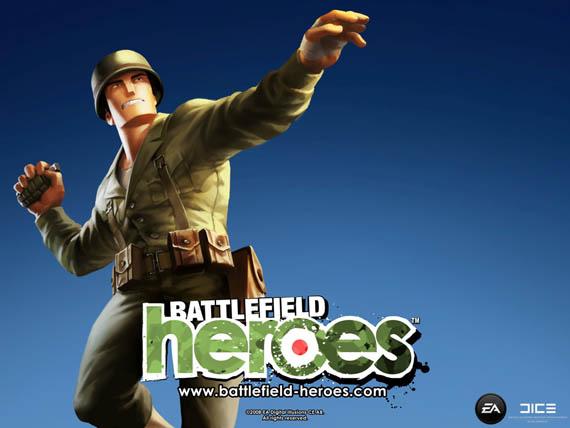 Battlefield: Heroes confirmado para Abril