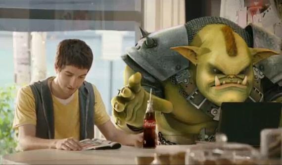 Coca-cola Lanza comercial de TV dirigido a los gamers