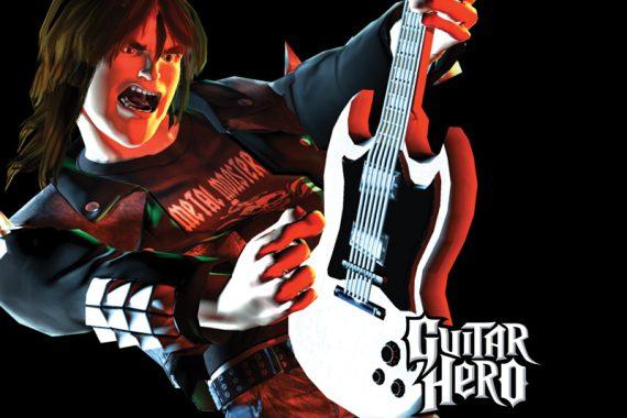 Nuevo record en Guitar Hero!