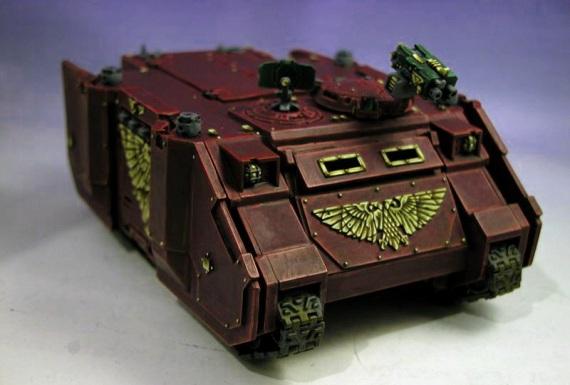 Como se hace un tanque según Dawn of War 2 [Video]