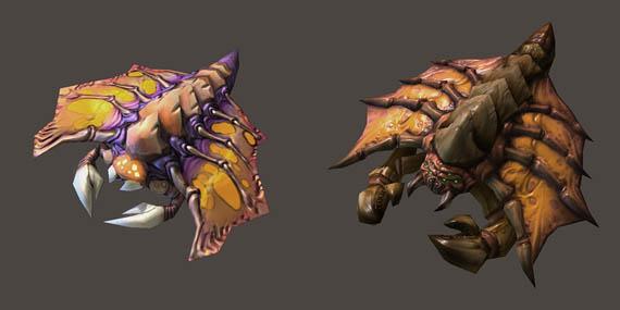 Screenshots de Starcraft 2 nos muestran el nuevo diseño Zerg