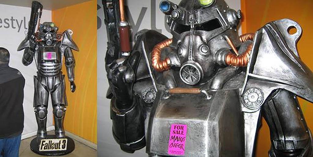 Llame shá! Compre esta figura tamaño real de un Soldado Brotherhood de Fallout 3 [Ofertones]