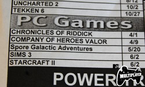 Fecha NO oficial de lanzamiento para Starcraft 2 [Rumores]