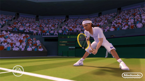 Primeras Screenshots de Grand Slam Tennis para Nintendo Wii