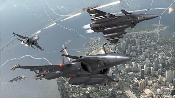 Descarga el demo de Tom Clancy's H.A.W.X ahora!