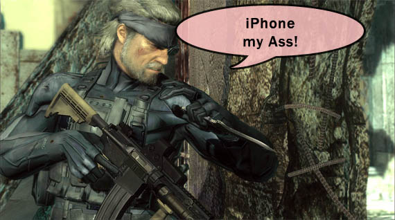 Metal Gear Solid Touch es pésimo [Video]