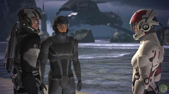 Video gameplay de Mass Effect 2 filtrado! [Videos de mala calidad]