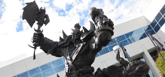 En las oficinas de Blizzard hay estatuas de World of Warcraft [Fotos]