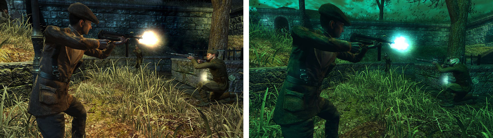 Para Comentar: Nuevas screenshots de Wolfenstein muestran dimensión paralela y al Dr. Wolfito