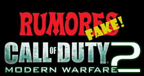 Infinity Ward desmiente los rumores de COD: Modern Warfare 2