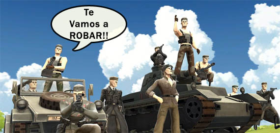 Olvídense del buen ping en Battlefield: Heroes [EA Sux]
