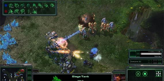 Blizzard nos muestra la Interfaz de Usuario en Starcraft 2 [Screenshots]