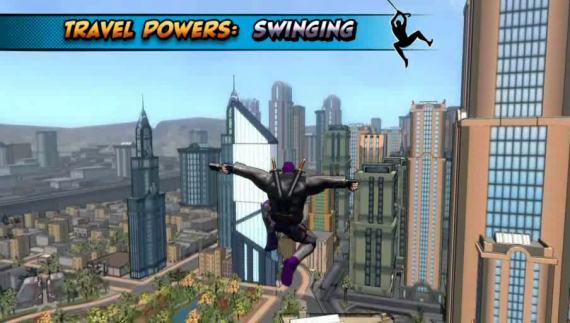 Champions Online nos muestra el traslado por Swing