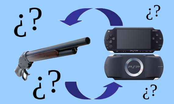 ¿¿Pistola por PSP??