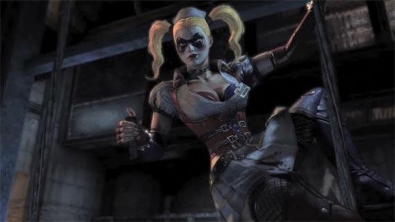 Otro más de Batman: Arkham Asylum nos presenta a la riquísima Harley Quinn [Trailer]