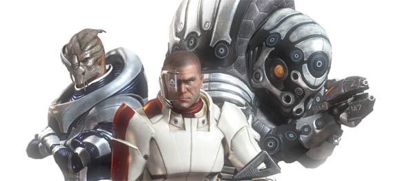 Nuevo arte conceptual de Mass Effect 2 anuncia un juego... de lujo [Screenshots ¿o no?]