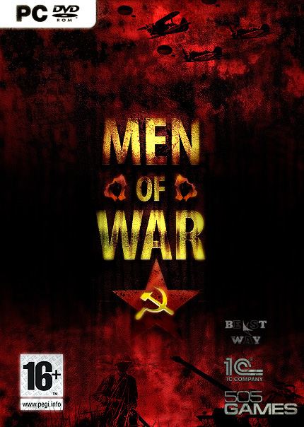 Estas son las portadas de Men of War que concursan por una copia del juego [Concurso]