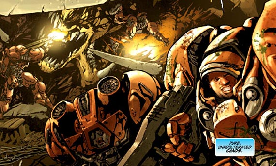 DC lanza el primer comic basado en Starcraft [Imágenes]