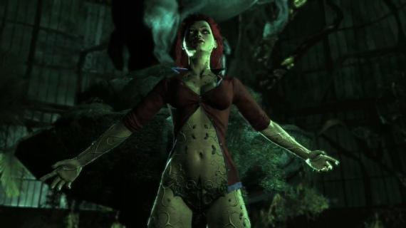 Trailer de la sexy Poison Ivy -  Batman: Arkham Asylum
